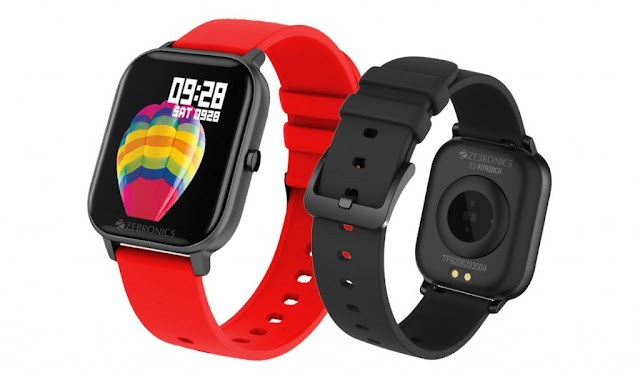 Zebronics introduces ZEB-FIT920CH SMART fitness band