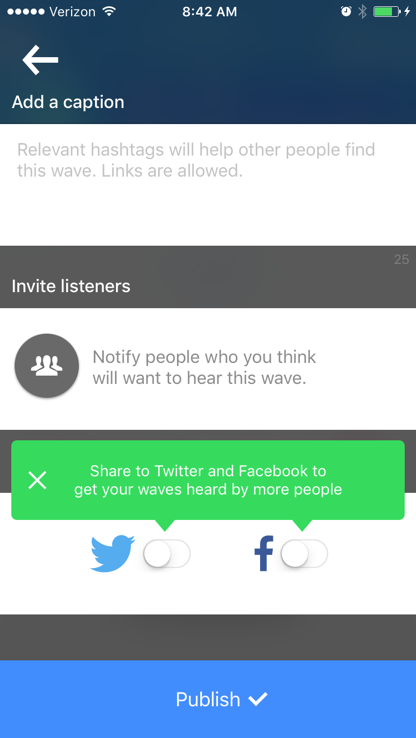 New social apps Anchor screenshot