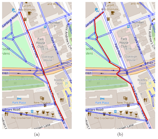 Mapping the Best Route for Pedestrian Safety