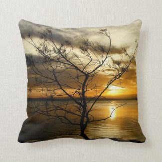 Sunset Loner Pillow