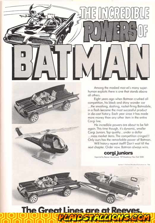 Corgi jrs Batman