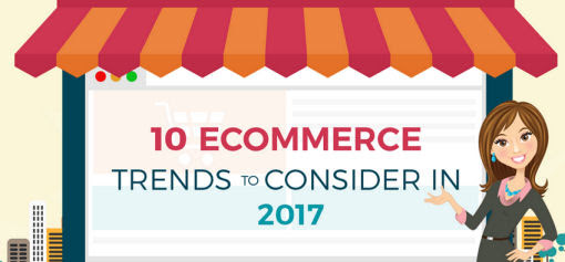 10 Ecommerce Trends to Consider In 2017 [Infographic]