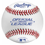 Rawlings Rolb1bt24 Official League Baseball, Full-grain Leather Cover