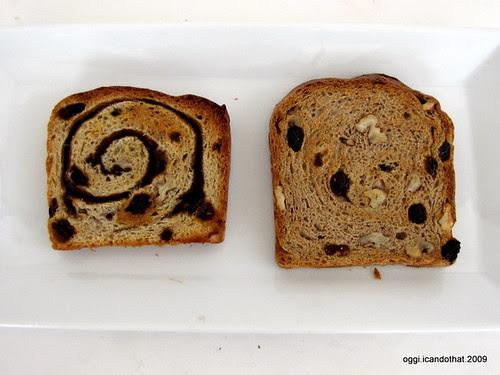 Cinnamon Raisin Walnut Bread