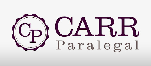 New Work: Carr Paralegal - Once Blind Studios