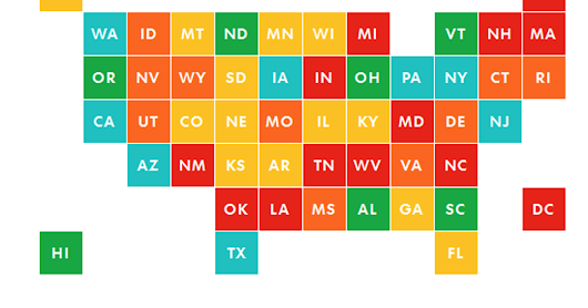 How we graded the states on teacher background checks