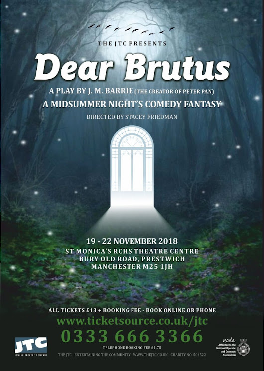 Dear Brutus tickets now on sale