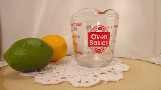 Anchor Hawking USA Oven Basics Measuring Glass by BessyBellVintage