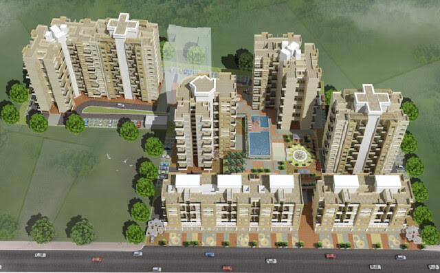 Shonest Towers Wakad Pune 411 027 Layout