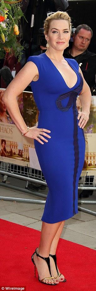 Kate Winslet revela que ela colocou uma proibição de dietas radicais por causa de sua própria auto-sabotagem, e paus para boa comida, manter-se ativo com seus filhos e, claro, a abundância de H20