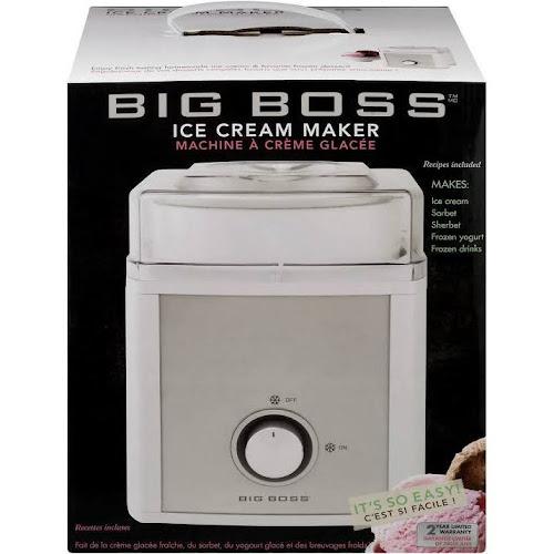 Big Boss 2 Quart Ice Cream Maker