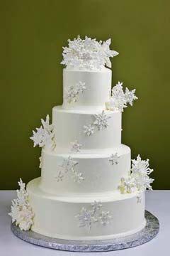 Festive Christmas Wedding Cakes Gallery