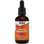 Now Foods Liquid Vitamin D-3 2 Fl Oz