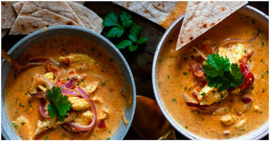 15 Minute Creamy Indian Coconut Chicken Curry