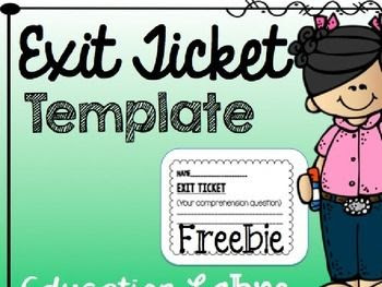 1000+ images about Exit tickets on Pinterest   Common cores, Exit ...