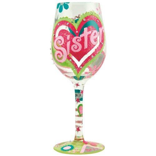Lolita Sister ... My BFF Wine Glass