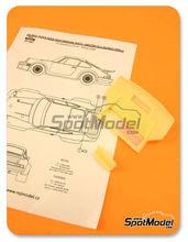 Transkit 1/24 Reji Model - Porsche 911 934 RSR - aleron trasero - resinas para kit de Tamiya TAM24328