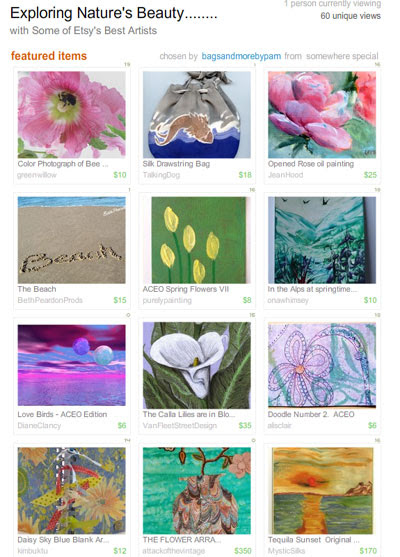 Exploring Nature's Beauty Treasury