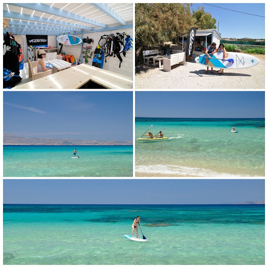 Having fun, SUP day! - Naxos Kitesurf Club