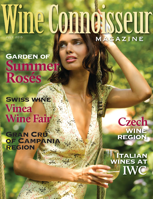 Wine Connoisseur Magazine July 2015