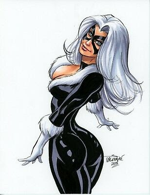 Sexy Black Cat Pictures Exposed (#1 Uncensored)