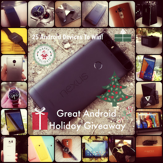 The Great Android Holiday Giveaway - AndroidHeadlines.com