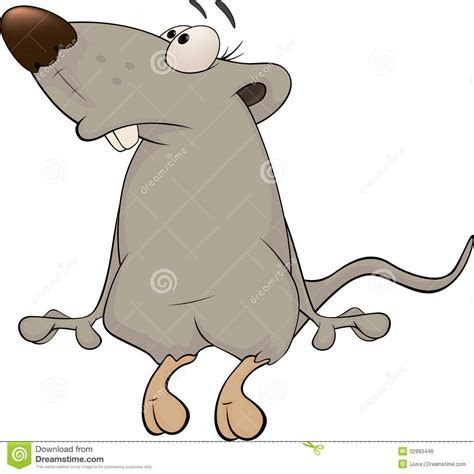 Rat Cartoon Royalty Free Stock Image   Image: 32993446