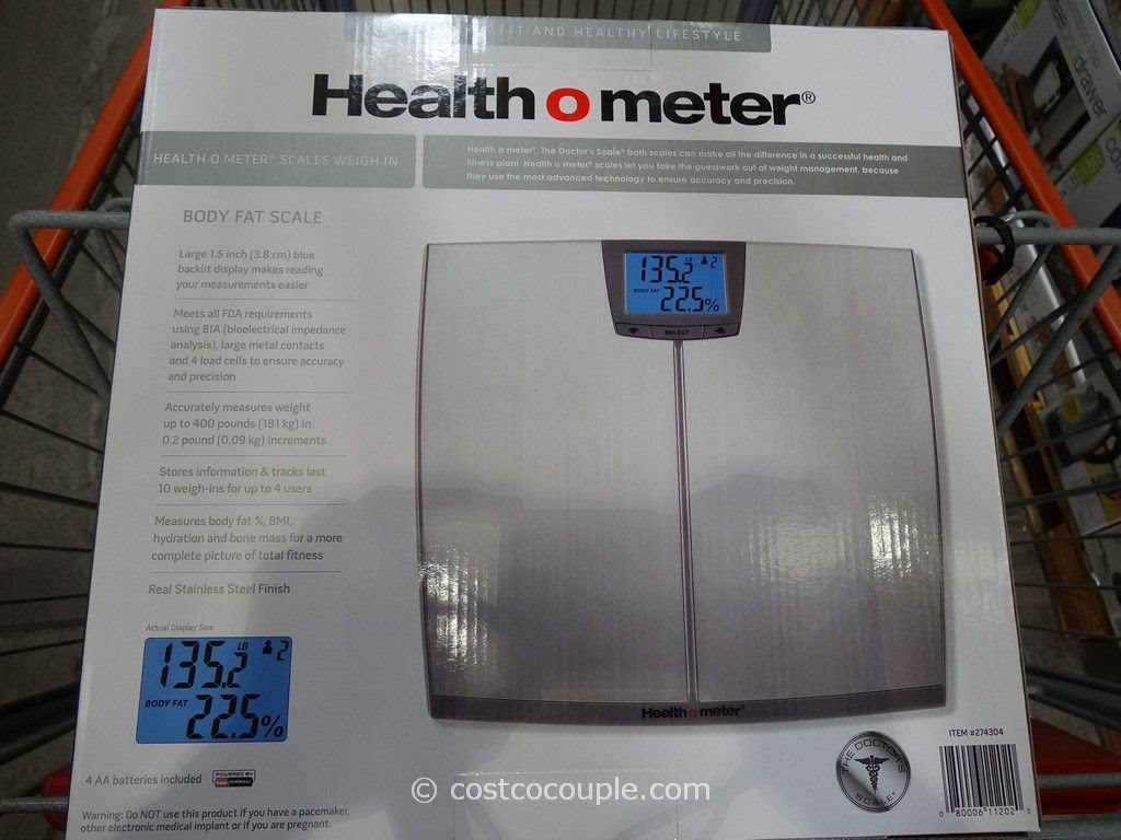 body fat percentage scale costco