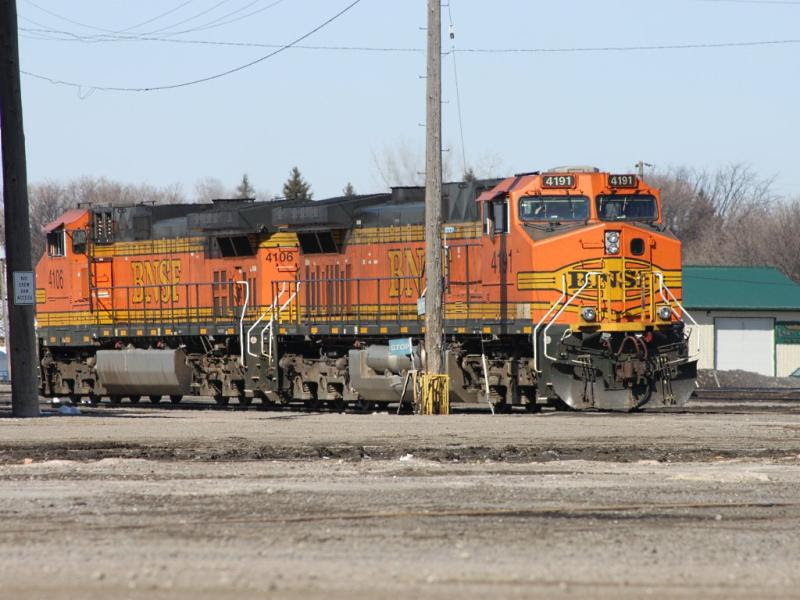 BNSF 4191 in Grand Forks