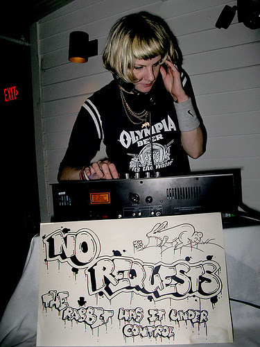 DJing at Metropolitan