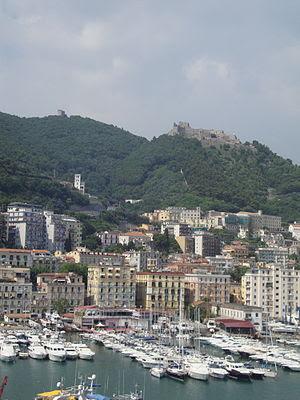 English: Salerno, city of Campania (southern I...