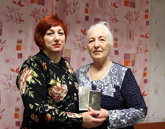 Ольга Желнина и Мария Сидорова