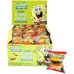 Spongebob Squarepants Giant Krabby Patties Gummy Candy (pack Of 36)