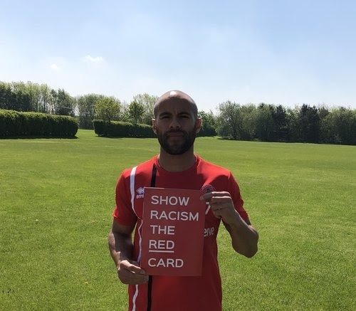 Adam Chambers Becomes Patron of Show Racism the Red Card