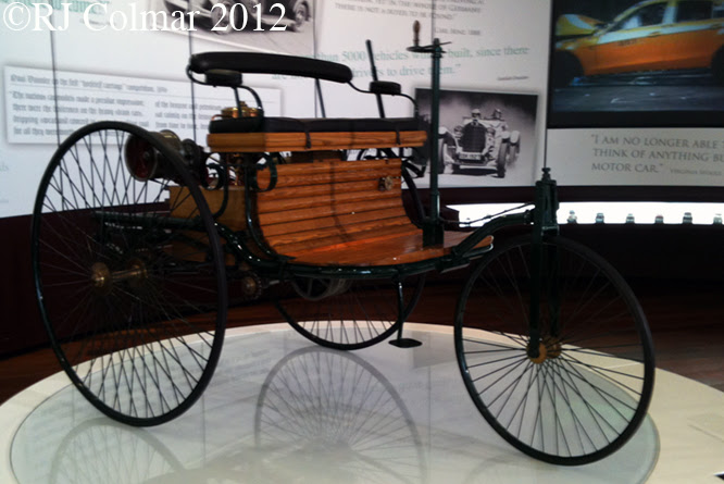 Benz Patent Motor Car, Mercedes Benz World