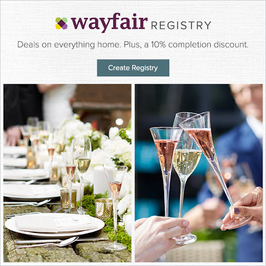 Wayfair Registry NYC Getaway Sweepstakes!