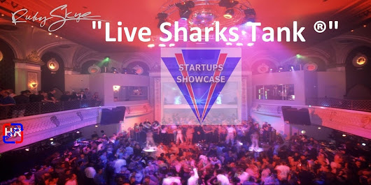 """LIVE SHARKS TANK®"" episode 35, May 20, 2016 by Startups Showcase."