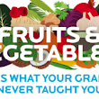 Fruits and Vegetables: This is what your grandma never taught you [Infographic]