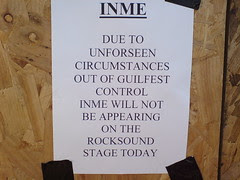 InMe aren't playing