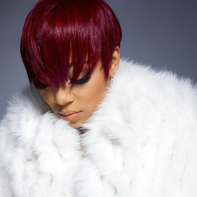 Monica : Code Red (Promo) photo 2-Monica-Browns-New-Red-Pixie-Cut.jpg