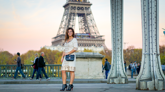Petite in Paris · White and Gold • Petite in Paris