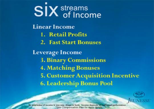 Profits from Jeunesse Global