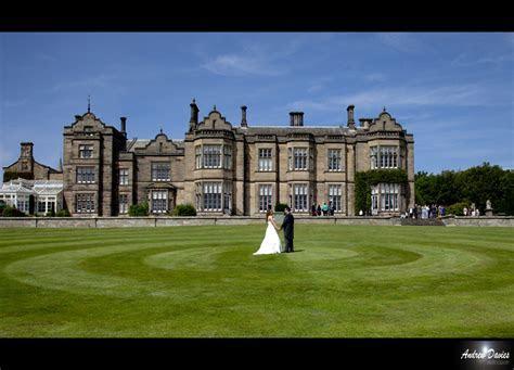 wedding photos from matfen hall northumberland wedding venue