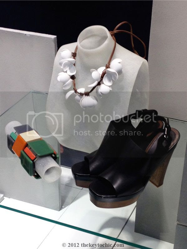 Marni at H&M accessories, Marni at H&M black heels