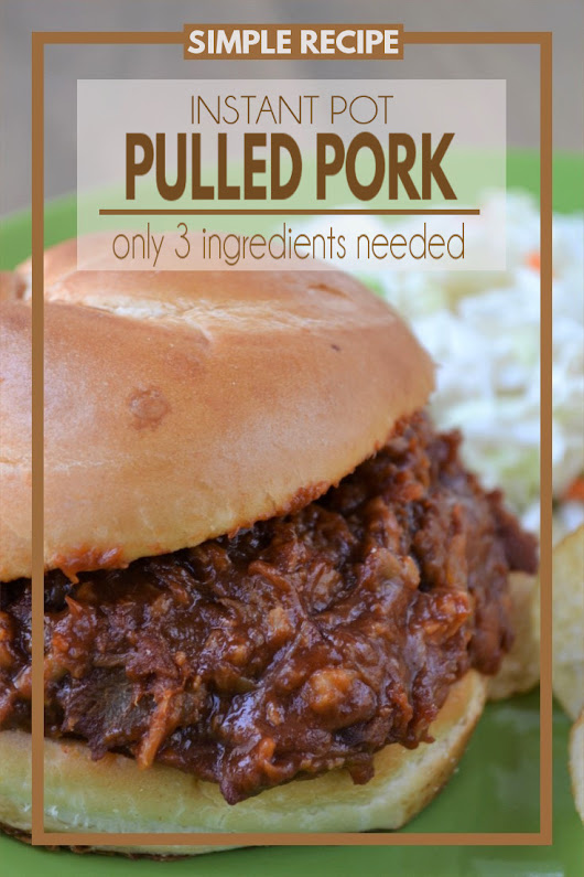 Simple Smokey Instant Pot Pulled Pork