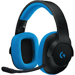 Logitech Gaming G233 Prodigy Over-Ear Headset - Cardioid/Uni-Directional