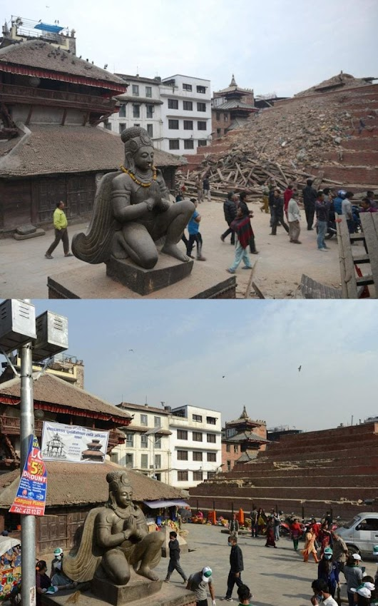 Nepal earthquake anniversary: one year on, not one home rebuilt by government