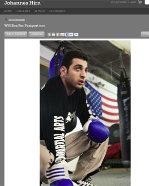 Tamerlan Tsarnaev foi lutador de boxe (Foto: Reprodução)