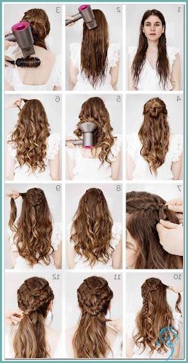 50 Einfache Und Susse Frisuren Fur Mittellanges Haar Wass Sell