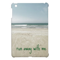 Romantic Beach Design with Quote Cover For The iPad Mini